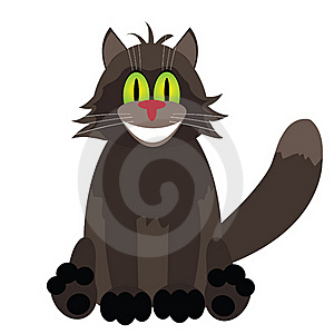 Happy Cat Stock Photo - Image: 16365330