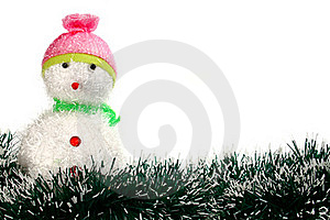Toy Decoration Snowman Royalty Free Stock Photo - Image: 16365675