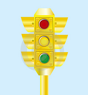 Yellow Traffic Light Stock Photos - Image: 16366003