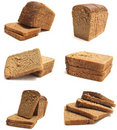 Black bread Stock Photo