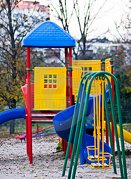 Children's Playground Stock Photo - Image: 16370300