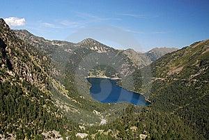 Oredon Lake Seen From The Dam Of Cap Long Royalty Free Stock Photos - Image: 16373118