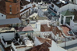 Andalusian Rooftops Royalty Free Stock Photography - Image: 16373927