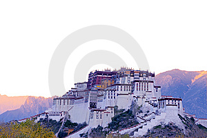 Potala Palace Royalty Free Stock Photo - Image: 16374625