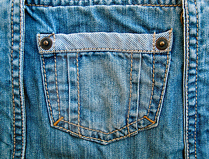 Fragment Of Jeans Royalty Free Stock Photo - Image: 16377135