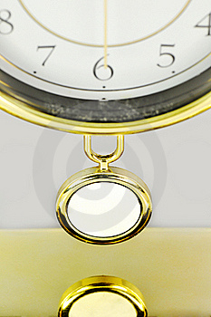 Pendulum Of Clock. Royalty Free Stock Photography - Image: 16382757