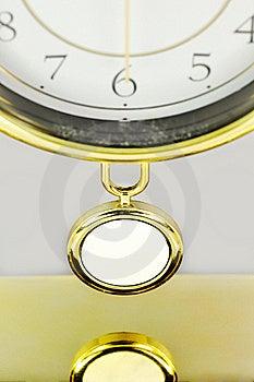 Pendulum Of Clock. Royalty Free Stock Photography - Image: 16382757