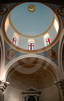 Galilee Church Dome Royalty Free Stock Images - Image: 16382829