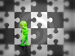 Missing Puzzle Stock Images - Image: 16384824