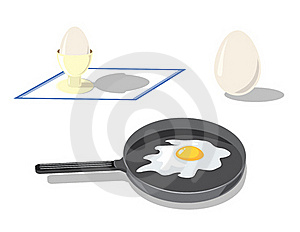 Preparation Of Eggs Stock Image - Image: 16384851