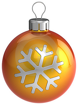 New Year Decoration. Christmas Ball (Hi-Res) Stock Image - Image: 16389671