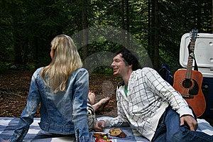 Couple On A Picnic Stock Photos - Image: 16391623
