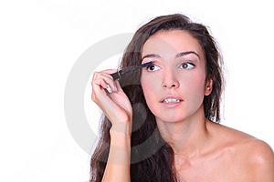 Beautiful Woman - Make Up Stock Photography - Image: 16392532