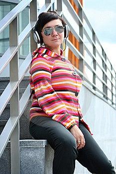 Enjoying Music Outdoors Royalty Free Stock Photo - Image: 16393585