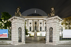 Humboldt University In Berlin At Night Stock Photo - Image: 16394810