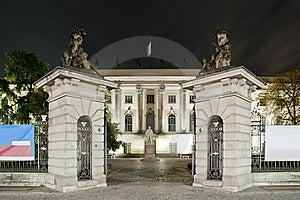 Humboldt University In Berlin At Night Stock Photo - Image: 16394810