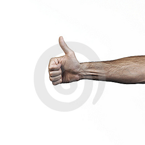 Hand Doing Signs Royalty Free Stock Photos - Image: 16395688