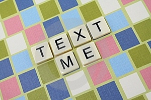 Text Me 2 Stock Photography - Image: 16396452