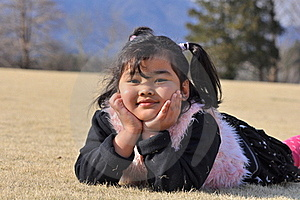 A Smiling Malay Girl Royalty Free Stock Image - Image: 16397086