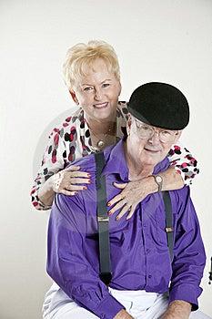 Elderly Senior Couple Stock Image - Image: 16402701