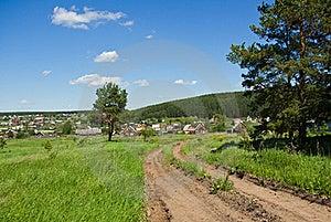 Village Road Stock Images - Image: 16404674