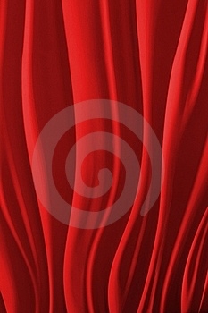 Red Waves Stock Images - Image: 16405254