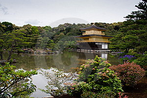 Golden Temple In Kyoto Royalty Free Stock Images - Image: 16405979