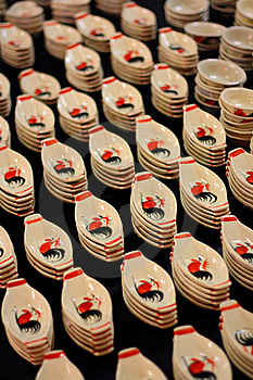 Ceramic Saucers Royalty Free Stock Photography - Image: 16407047