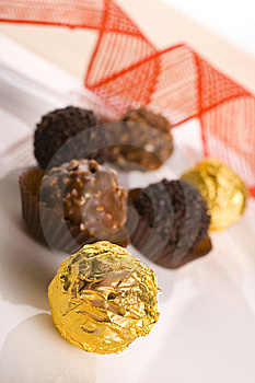 Chocolate Praline Royalty Free Stock Photos - Image: 16408948