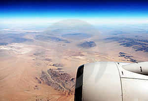 Aerial View (Desert/Plane) Stock Photos - Image: 16409343