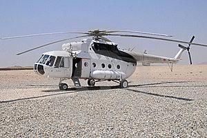 MI-8 Helicopter Stock Photo - Image: 16412460