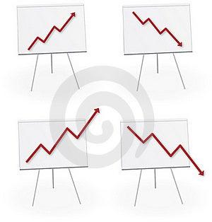 Economy Chart Report Forecast Royalty Free Stock Photo - Image: 16412655