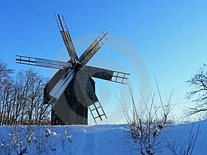 The Windmill Royalty Free Stock Images - Image: 16415039