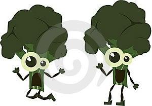 Green  Emotion Broccoli Stock Image - Image: 16419261