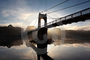Morning At Lyon Royalty Free Stock Photography - Image: 16419857
