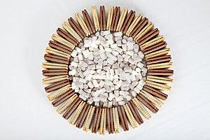 Biscuit Circle Royalty Free Stock Image - Image: 16421986