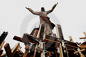 Crosses Stock Images - Image: 16424564