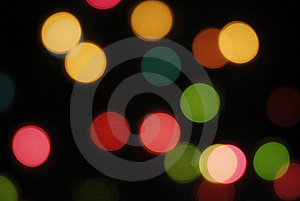 Defocus Of Colorful Lights. Royalty Free Stock Image - Image: 16426796