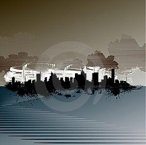 Abstract City Royalty Free Stock Photo - Image: 16427045