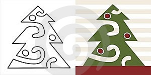 Christmas Tree Royalty Free Stock Photo - Image: 16427645