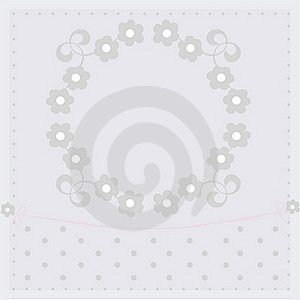 Baby Arrival Card Royalty Free Stock Photo - Image: 16427665
