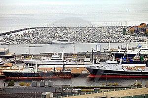Packed Marina & Fishing Vessels, Seattle WA. Stock Photography - Image: 16429122