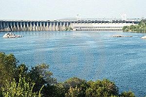 Zaporizhzhya Power Dam Royalty Free Stock Photo - Image: 16429895
