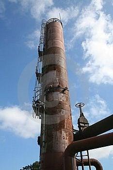 Old Gasworks Tank At Seattle Washington Royalty Free Stock Photo - Image: 16430125