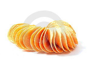 Potato Chips Stock Photography - Image: 16432472