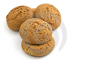 Oatmeal Cookies With Raisins. Stock Photography - Image: 16432652
