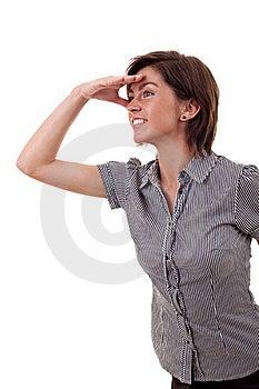 Business Woman Looking Forward Stock Photos - Image: 16433193