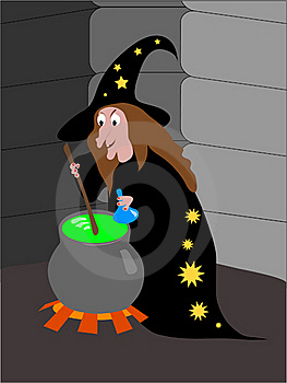 Witch Stock Photography - Image: 16433552