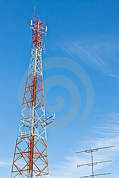 Communication Tower Royalty Free Stock Photography - Image: 16439137