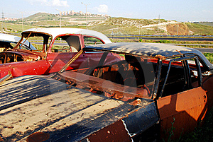 Old Abandoned Cars Stock Images - Image: 16440644